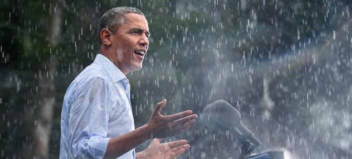 Ο Μπαράκ Ομπάμα. Φωτογραφία: Twitter