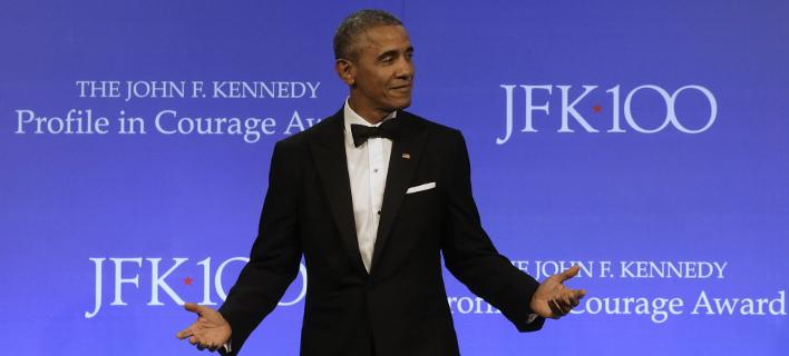 Οι Αμερικανοί νοσταλγούν ακόμη τον Μπαράκ Ομπάμα (Φωτογραφία: AP/ Steven Senne)