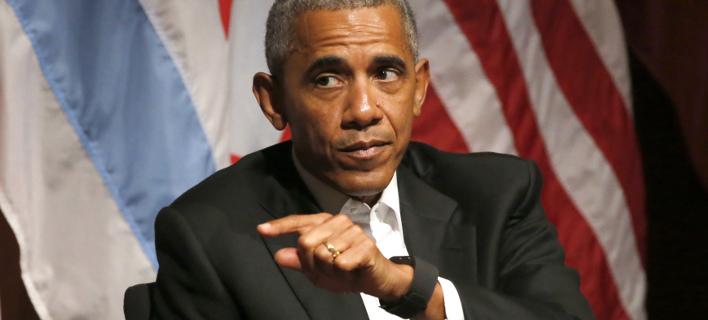 Ο Μπαράκ Ομπάμα (Φωτογραφία: AP/ Charles Rex Arbogast)