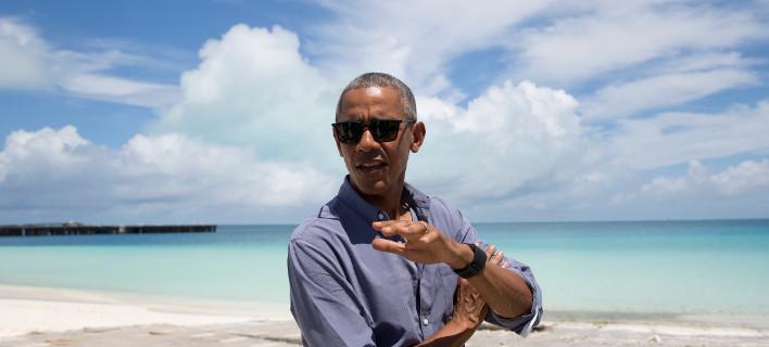 Φωτογραφία: AP/ Η φωτογραφία είναι τραβηγμένη στην Turtle beach της Χαβάης