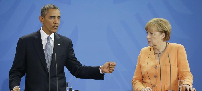 Εκτακτη εξέλιξη: Τηλεφωνική επικοινωνία Μέρκελ – Ομπάμα για την Ελλάδα