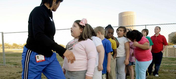 έρευνα για τα παχύσαρκα παιδιά/Φωτογραφία: AP