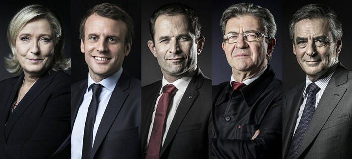 Γαλλία: Οι υποψήφιοι πρόεδροι έφεραν ανόητα αντικείμενα στο debate [εικόνες]