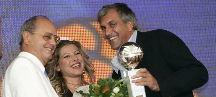 Θανάσης Γιαννακόπουλος και Ζέλικο Ομπράντοβιτς /Φωτογραφία: EUROKINISSI