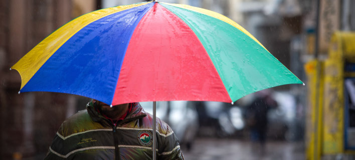 Συνεχίζονται οι βροχές/ Φωτογραφία: EUROKINISSI- ΗΛΙΑΣ ΜΑΡΚΟΥ