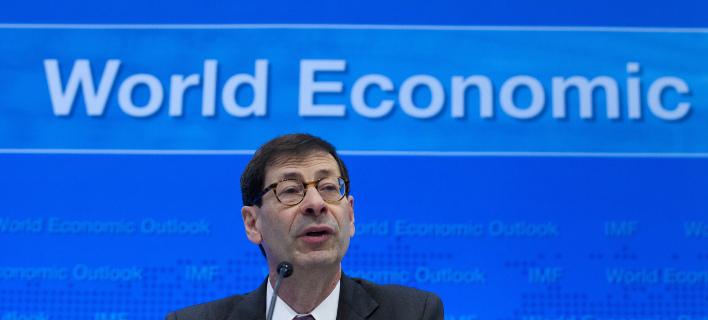 Ο επικεφαλής οικονομολόγος του ΔΝΤ, Μορίς Ομπστφελντ (Φωτογραφία: AP/ Jose Luis Magana)
