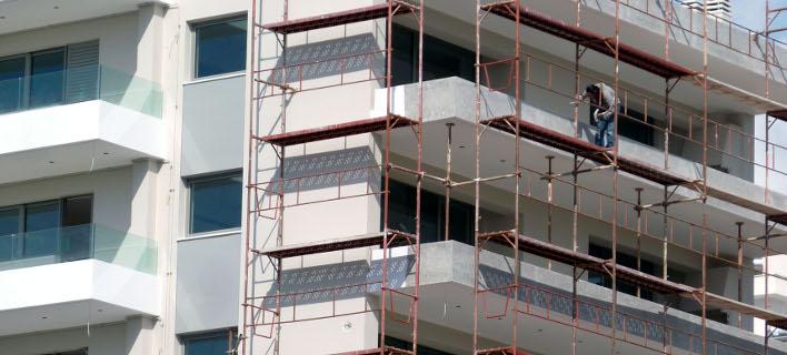 Αυξημένη η οικοδομική δραστηριότητα/Φωτογραφία: Eurokinissi