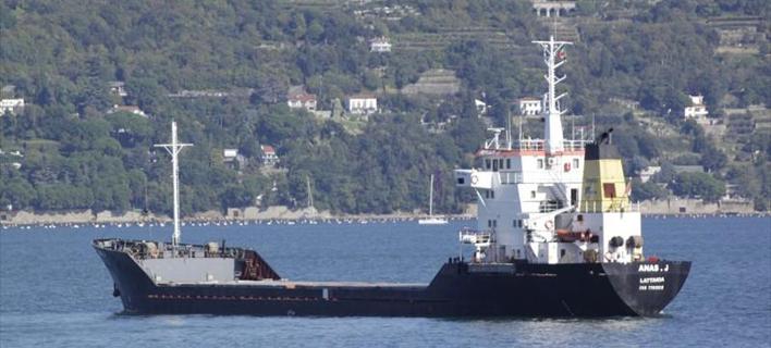 Το φορτηγό «OLA» σημαίας Συρίας -Φωτογραφία: marinetraffic.com