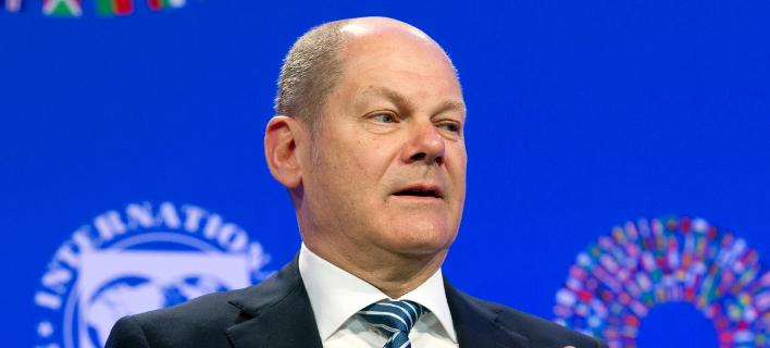Ο Γερμανός υπουργός Οικονομικών, Ολαφ Σόλτς/ Φωτογραφία: ΑΡ