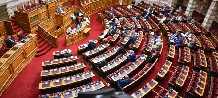 Ολομέλεια/Φωτογραφία: Eurokinissi/ΤΑΤΙΑΝΑ ΜΠΟΛΑΡΗ