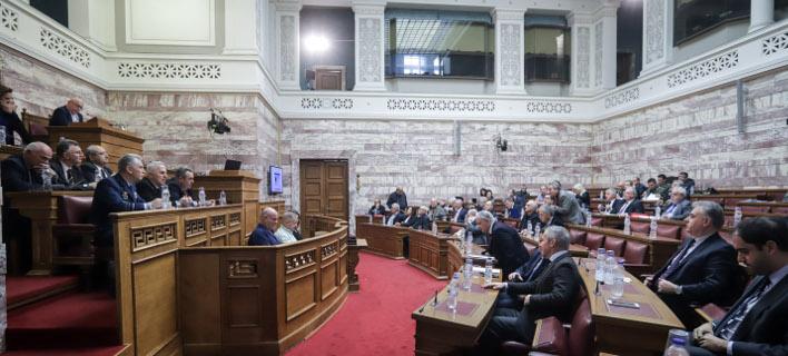 κοινή συνεδρίασης επιτροπών/Φωτογραφία: Eurokinissi