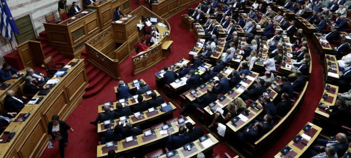 Βουλή/ Φωτογραφία eurokinissi