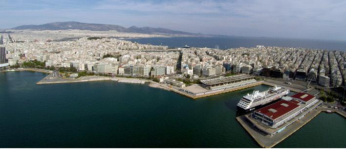 Το ΣτΕ «πάγωσε» προσωρινά το διαγωνισμό για την επέκταση του λιμανιού του ΟΛΠ /Φωτογραφία: Εurokinissi