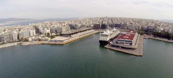 Το λιμάνι του Περαιά από ψηλά/Φωτογραφία: Eurokinissi