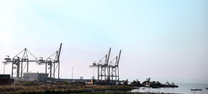 Αποψη από το λιμάνι της Θεσσαλονίκης/Φωτογραφία: Eurokinissi