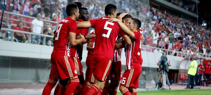 Ο Ολυμπιακός /Φωτογραφία Eurokinissi