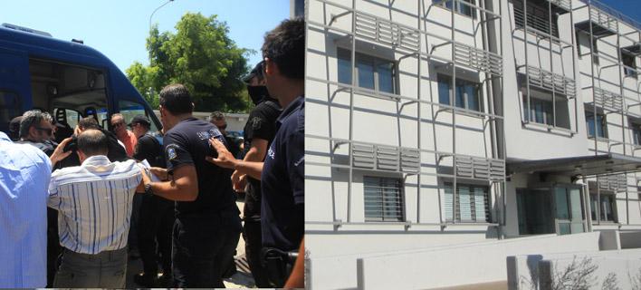 Στο ΑΤ Ολυμπιακού Χωριού μεταφέρθηκαν οι 8 Τούρκοι - Στο Μενίδι