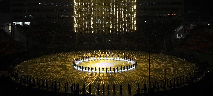 Ιστορική στιγμή: Οι αθλητές της Βόρειας και της Νότιας Κορέας παρελαύνουν υπό μία σημαία [εικόνες]