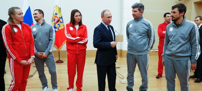 «Συγγνώμη» Πούτιν σε Ρώσους Ολυμπιονίκες: Δεν σας προστατεύσαμε από τις κατηγορίες για ντόπινγκ [εικόνες]