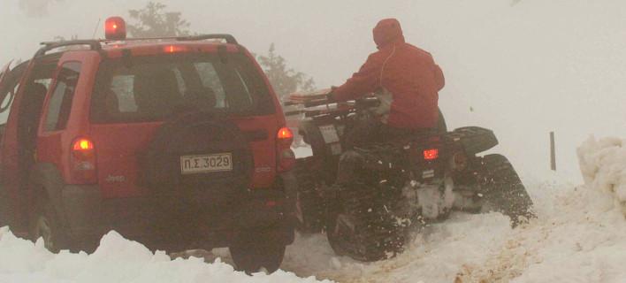 Εντοπίστηκαν σώοι οι δυο ορειβάτες που είχαν χαθεί στον Ολυμπο / Eurokinissi (αρχείο)