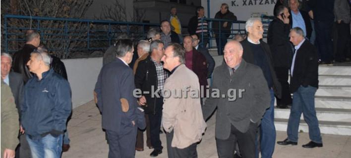 Οπαδοί του ΠΑΟΚ ματαίωσαν ομιλία του Αδωνι Γεωργιάδη