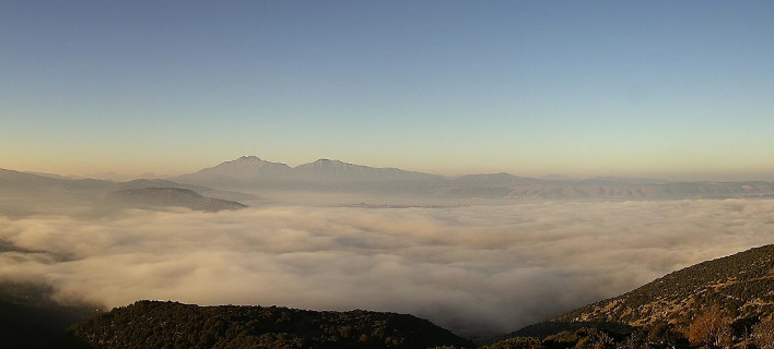 Ομίχλη στη λίμνη Ιωαννίνων