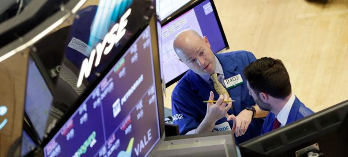 Το χρηματιστήριο της Νέας Υόρκης/Φωτογραφία: AP