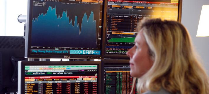 Στατιστικά χρηματιστηριακά διαγράμματα/Φωτογραφία: AP