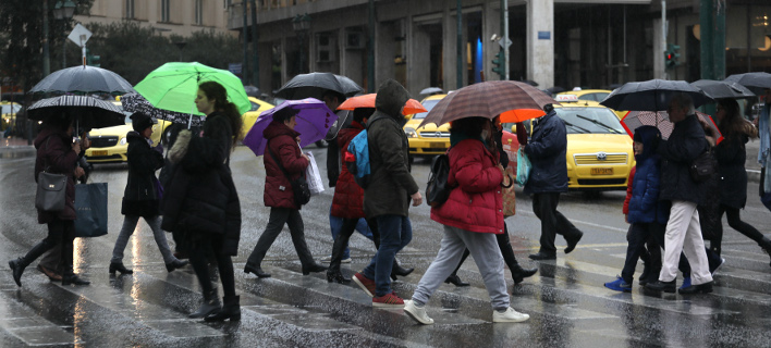 Κακοκαιρία /φωτογραφία: Ιntime News