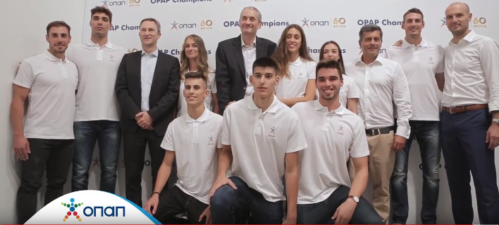 Eντεκα «ΟΠΑΠ Champions» από τη νέα γενιά αθλητών [βίντεο]