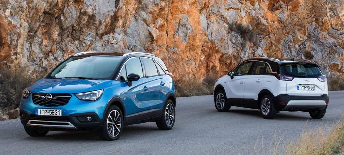To νέο SUV της Opel, το Crossland X ξεκινά από 1.200 κυβικά και 17.300 ευρώ