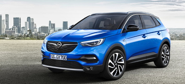 Το Grandland X είναι το νέο μεγάλο SUV της Opel