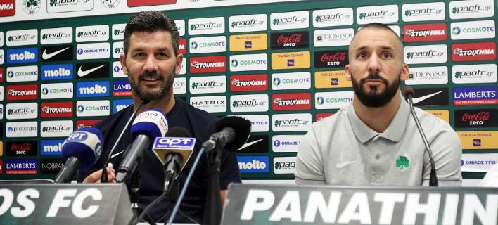 Το πιστεύει ο προπονητής του ΠΑΟ/Φωτογραφία: EUROKINISSI