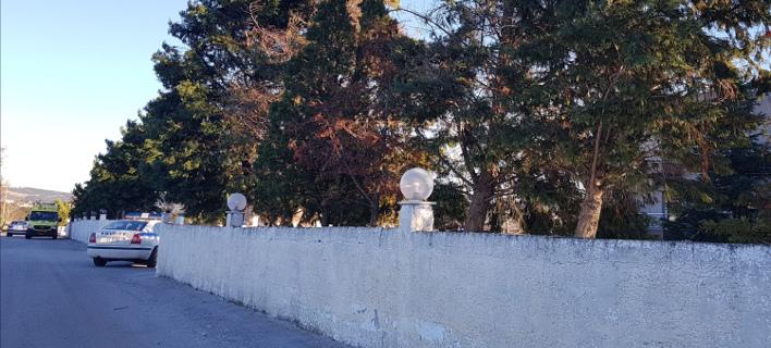 Υποπτο αντικείμενο έξω από ξενοδοχείο στο Ωραιόκαστρο (Φωτογραφία: oraiokastro24)