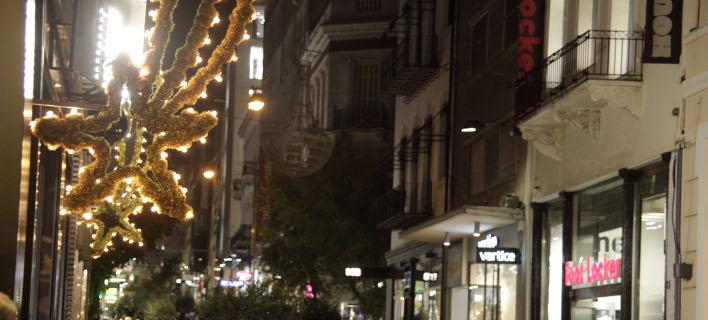 Συνεχές ωράριο για τα καταστήματα την περίοδο των εορτών/Φωτογραφία: Eurokinissi
