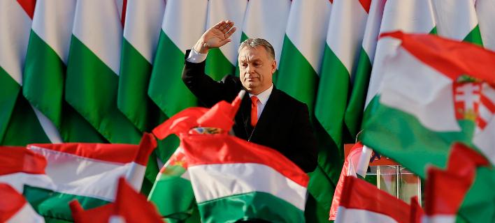 Ο απερχόμενος και όπως όλα δείχνουν μελλοντικός πρωθυπουργός της Ουγγαρίας, Βίκτορ Όρμπαν (Φωτογραφία: ΑΡ)