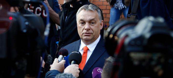 Ο Ούγγρος πρωθυπουργός Βίκτορ Ορμπαν/Φωτογραφία: AP