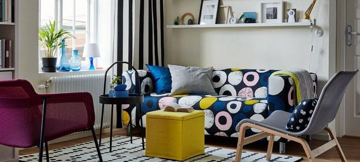 Στο εσωτερικό ενός design διαμερίσματος/ Φωτογραφία: IKEA
