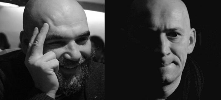 Δύο από τα θύματα της φονικής ενέδρας, οι δημοσιογράφοι Ορχάν Τζεμάλ και Αλεξάντρ Ραστοργκούεφ (Φωτογραφία: Facebook)