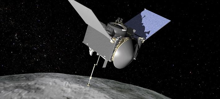 Το σκάφος OSIRIS-REx/Φωτογραφία: NASA