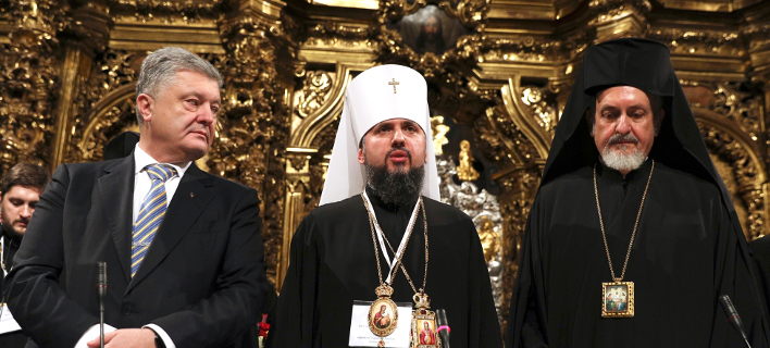 Ποροσένκο, Επιφάνιος (Επικεφαλής Ουκρανικής Εκκλησίας), Εμμανουήλ (Μητροπολίτης)