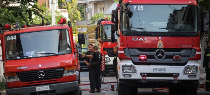 Ηράκλειο: Φωτιά σε μάντρα ανακύκλωσης αυτοκινήτων