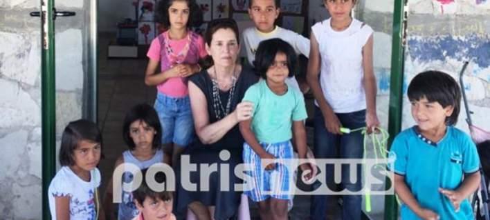 Νηπιαγωγείο για προσφυγόπουλα στη Μυρσίνη Ηλείας [εικόνες]