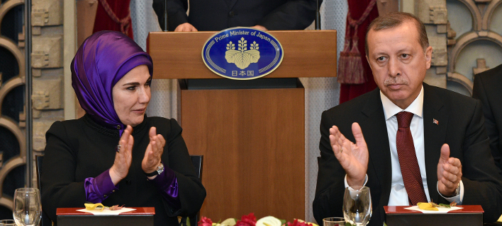 Το βράδυ το επίσημο δείπνο στο Προεδρικό -Τι απαγορεύεται να σερβίρουν στον Ερντογάν
