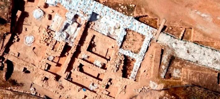 Με τείχη υψους 2 μ., φωτογραφίες: Τμήμα Ιστορίας και Αρχαιολογίας του Πανεπιστημίου Κύπρου