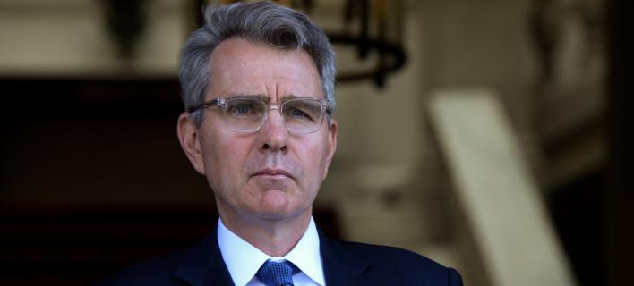 Αμερικανός πρέσβης: Συμφέρον των ΗΠΑ είναι να βγει η Ελλάδα από την κρίση