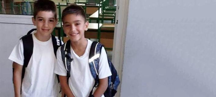 Οι δύο 11χρονοι που απήχθησαν στην Λάρνακα