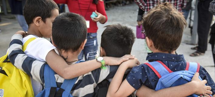 Μην τιμωρείτε τα παιδιά, τονίζει ο κ. Βίτσας/ Φωτογραφία: EUROKINISSI- ΤΑΤΙΑΝΑ ΜΠΟΛΑΡΗ