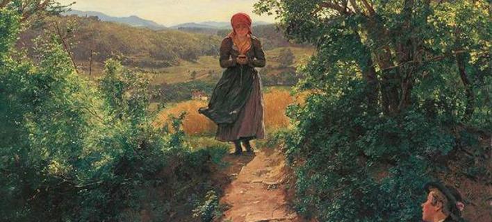 Ο πίνακας «The Expected One» του Ferdinand George Waldmüller