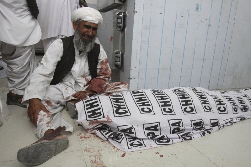 Νεκρός από την επίθεση σε προεκλογική συγκέντρωση/ Φωτογραφία AP images